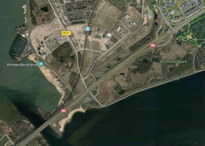 Almeerderstrand Zilverstrand Google Maps